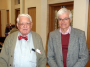 Chairman David Brice with Ralph Allwood 2012