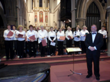 Nick Sherwood and BCS in Concert at St Thomas's Church Brentwood 2010