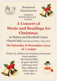 Christmas Music 2012