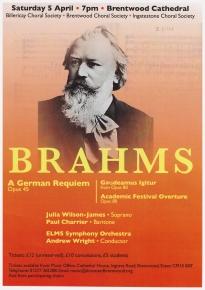 Lenten Concert A German Requiem 2014