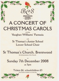 Christmas In St Thomas's church 2008