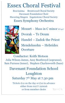 Essex Choral Festival 2011