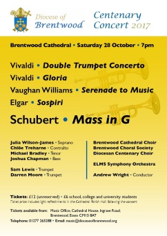 Cathedral Centenary Concert 2017